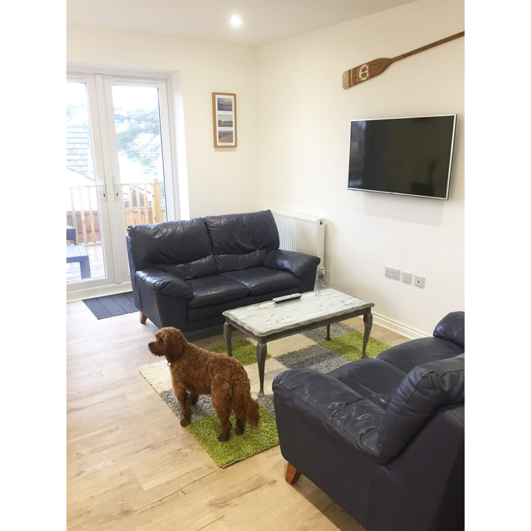 Hengistbury Reach Holiday Let Lounge