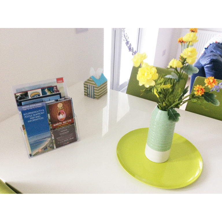 Hengistbury Reach Holiday Let Tourism leaflets
