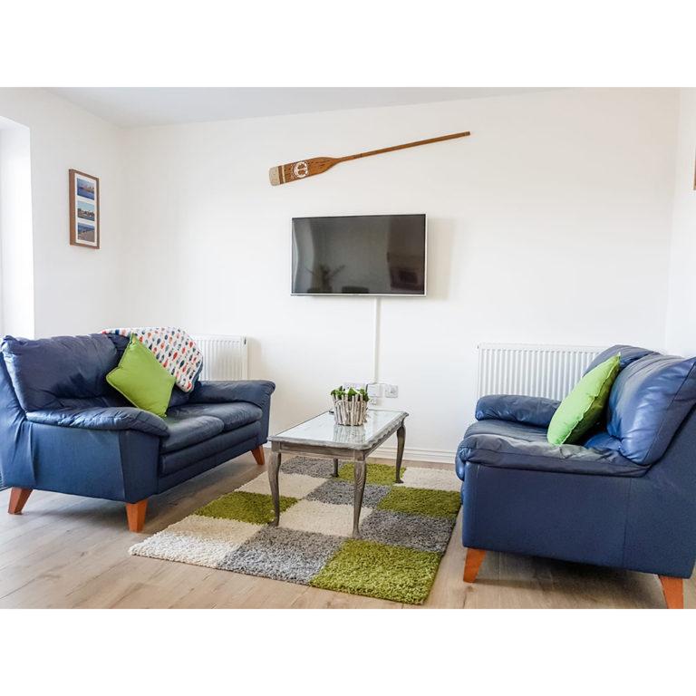 Hengistbury Reach Holiday Let lounge area