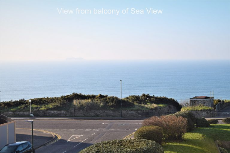 Sea View Holiday Let balcony view